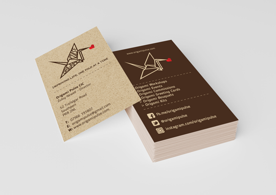 Origami-Pulse-Business-Card